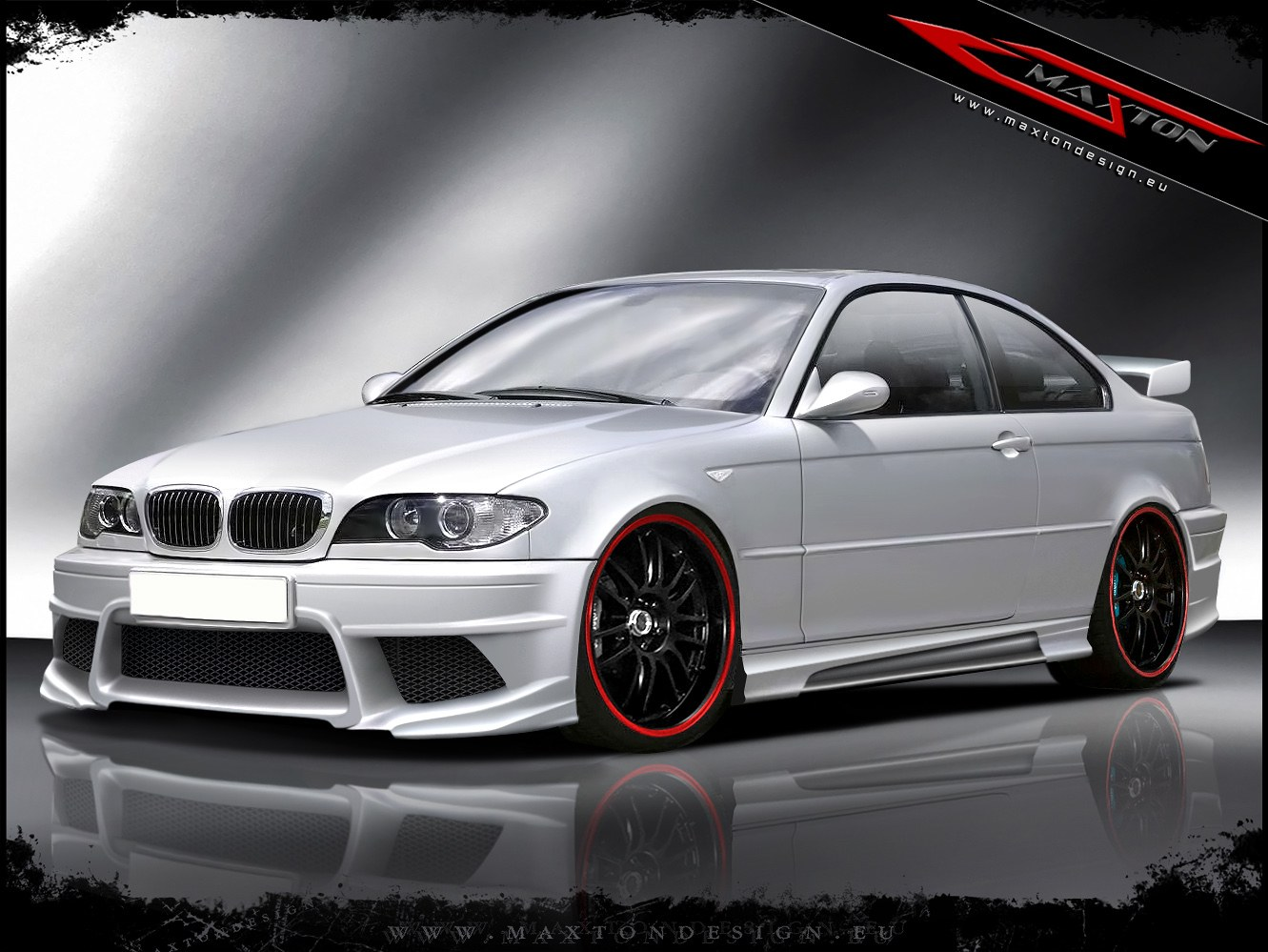 Dokładki Progów BMW 3 E46 Coupe & Cabrio < Generation V > - GRUBYGARAGE - Sklep Tuningowy